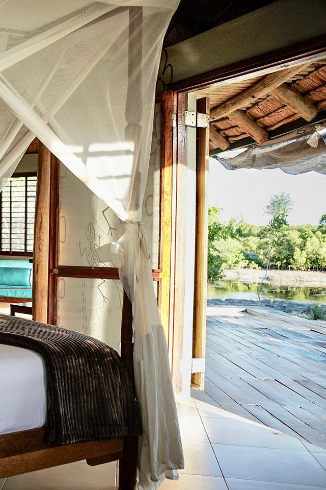 Lagoon villas room